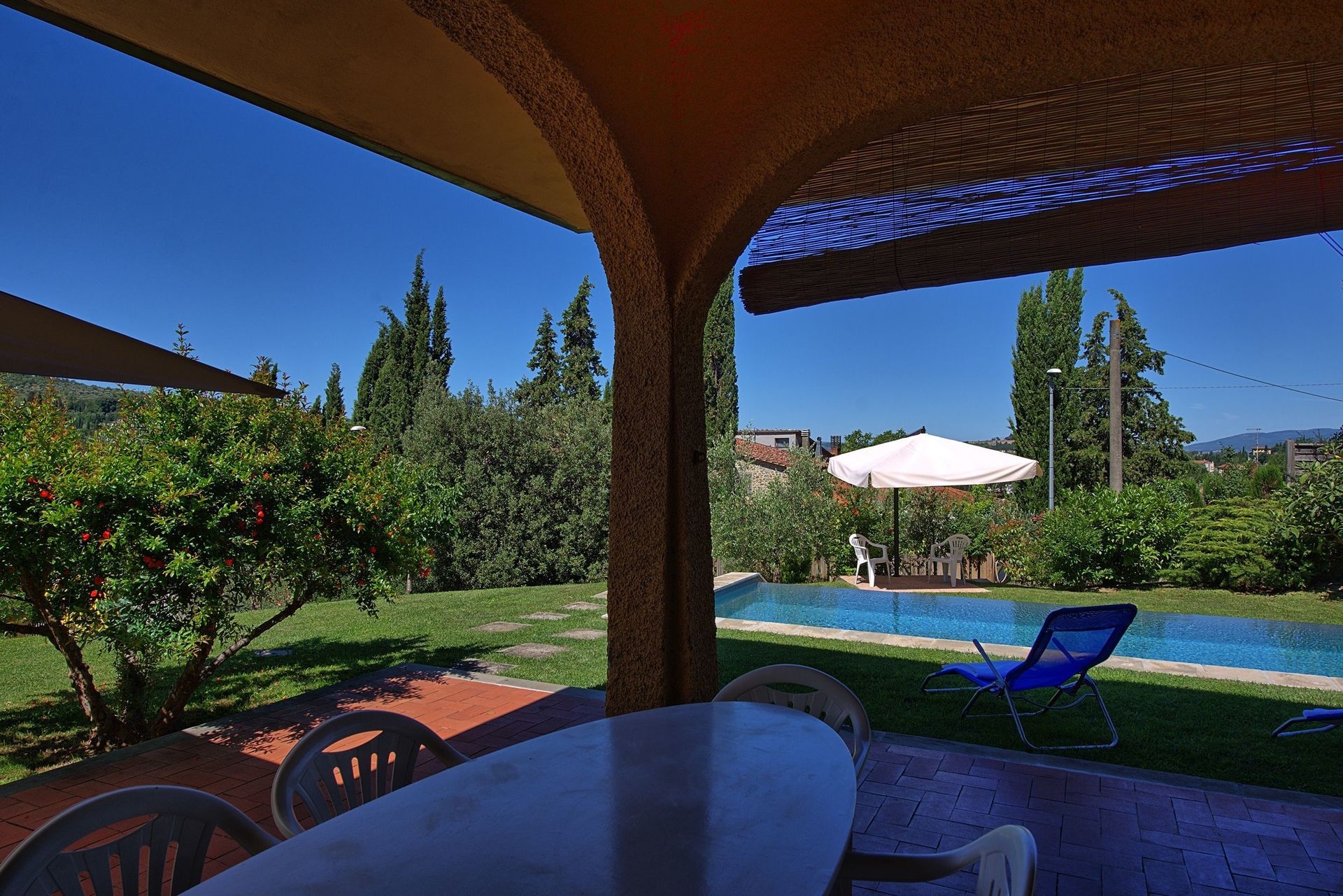 Arezzo Holiday Rental Villa Peruzzi Located Tuscany Italy  # Table De Jardin Arezzo